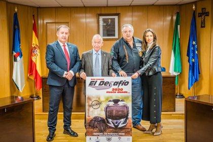 Diputación apoya la IX edición de la ruta invernal 'El Desafío' con más de mil moteros