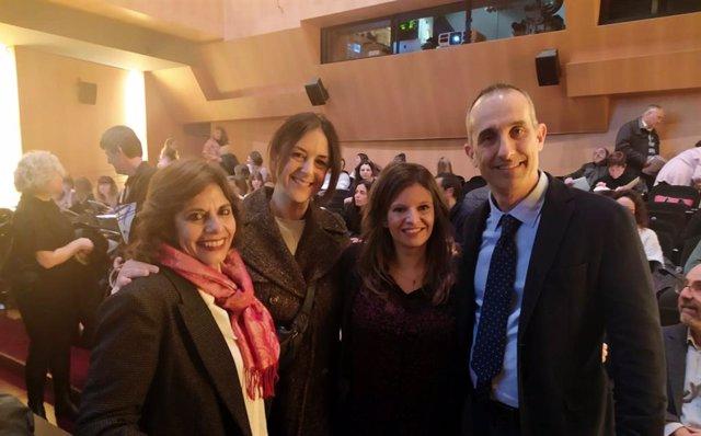 Graciela Esebbag, Thaïs Tiana, Vanessa Pera y Jaume Celma