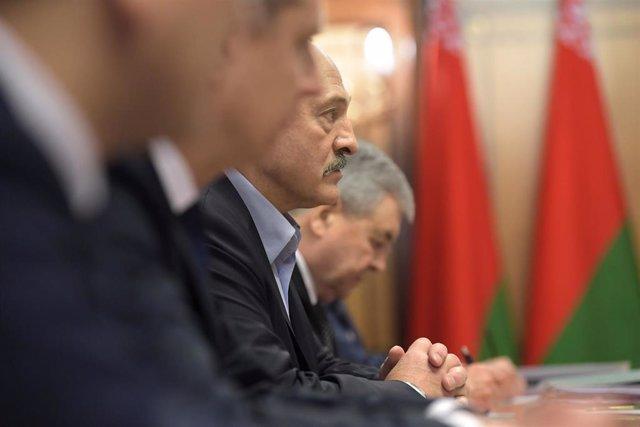 El presidente bielorruso Lukashenko.