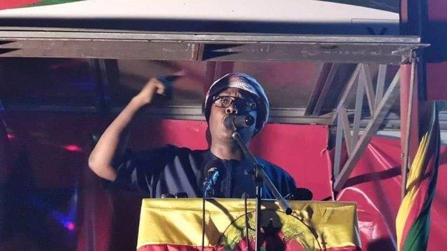 El presidente electo de Guinea-Bissau, Umaro Cissoko Embaló