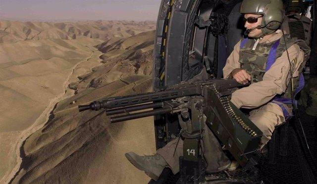 Una de las imágenes de la exposición 'Misión Afganistán'.