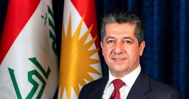 El primer ministro del Gobierno regional del Kurdistán iraquí, Masrour Barzani