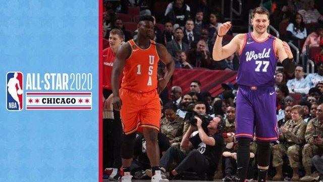 Baloncesto/NBA.- Luka Doncic brilla en la victoria de Estados Unidos en el Risin