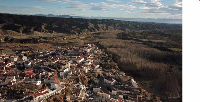 Castillejar en el Altiplano de Granada.