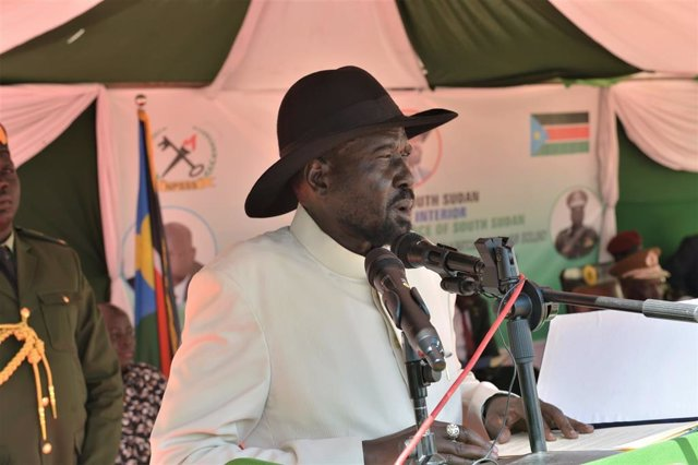 Salva Kiir, president del Sudan del Sud.