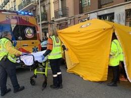 Herida grave una peatón al ser atropellada por una motociclieta en Retiro