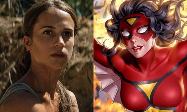 Alicia Vikander, ¿será Spider-Woman?