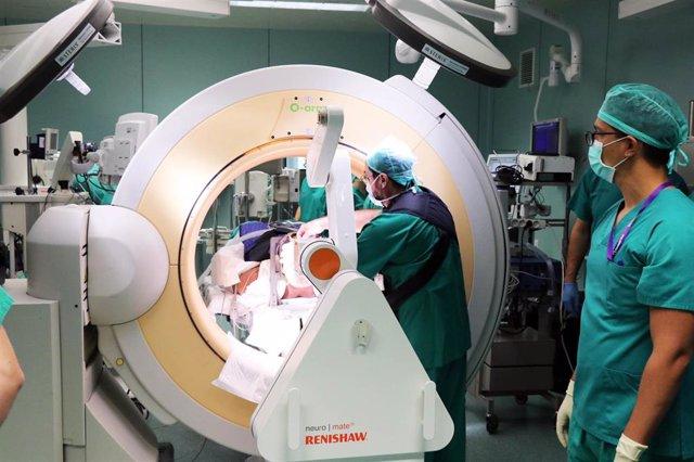 BRAZO QUIRÚRGICO ROBOTIZADO DEL HOSPITAL LA FE DE VALÈNCIA