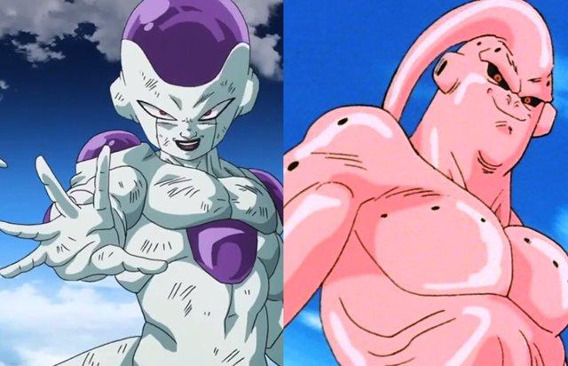 Buu y Freezer en Dragon Ball Z