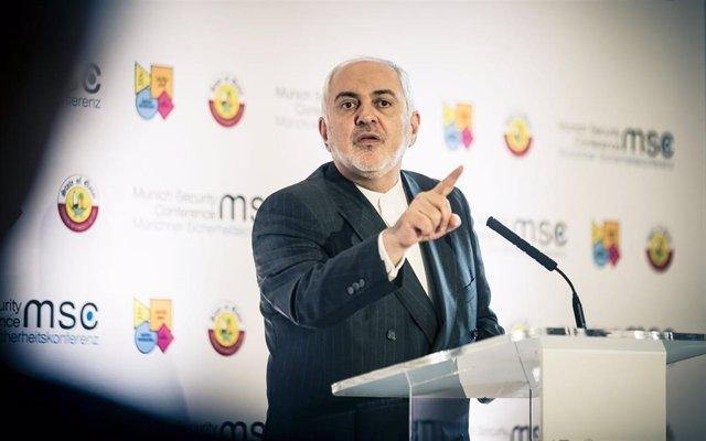 El ministro de Asuntos Exteriores Iraní, Mohammad Yavad Zarif