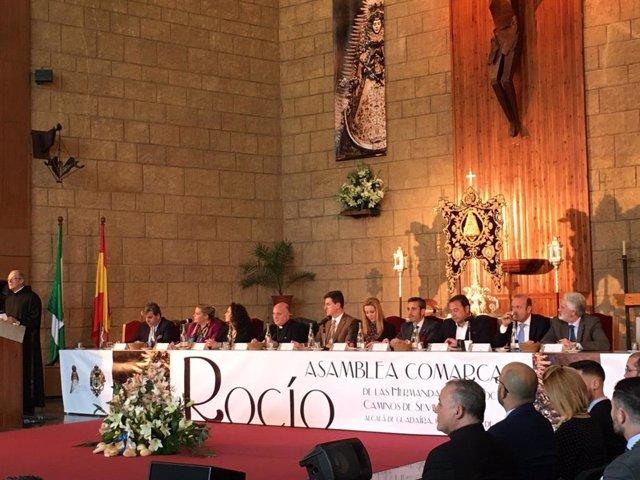 Asamblea Comarcal de Hermandades del Rocío.