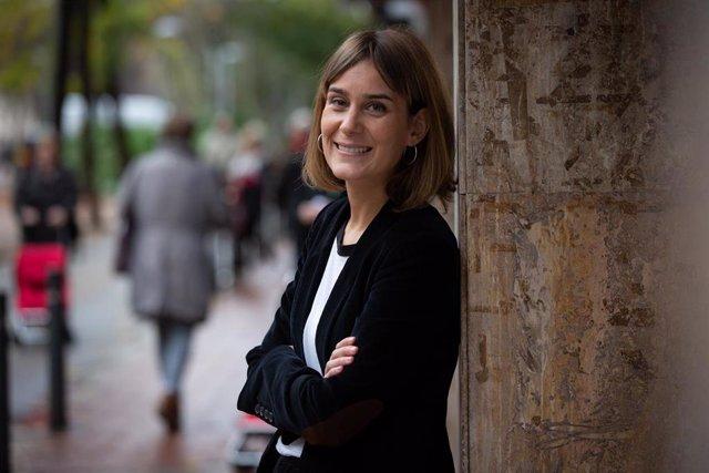 La presidenta de En Comú Podem (CatECP) en el Parlament de Catalunya, Jèssica Albiach. Foto de archivo