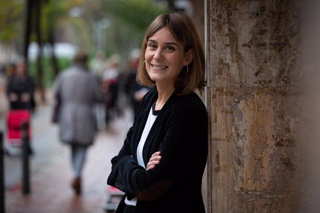 La presidenta d'En Comú Podem (CatECP) al Parlament de Catalunya, Jéssica Albiach. Foto d'arxiu.