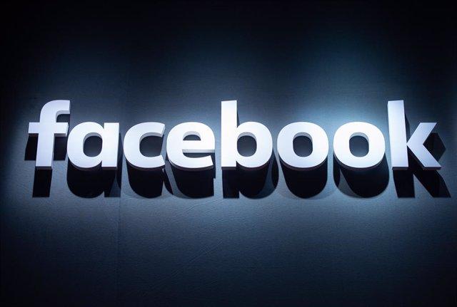 El logotip de Facebook