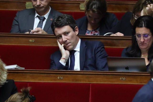 Benjamin Griveaux, excandidato de La República en Marcha (LREM) a la alcaldía de París.