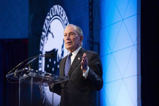 Imagen del exalcalde de Nueva York y candidata a las primarias demócratas Michael Bloomberg.