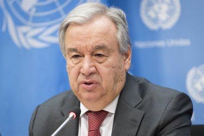 Guterres asistirá en su visita a Pakistán a una conferencia sobre la situación de refugiados afganos