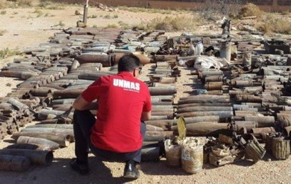 Libia.- Más de 20 millones de minas siguen sin estallar en Libia, el mayor arsenal descontrolado del mundo
