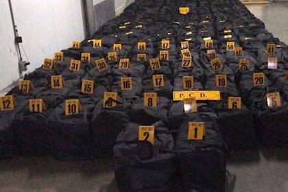 Costa Rica.- La Policía de Costa Rica se incauta del mayor alijo de cocaína de la historia del país
