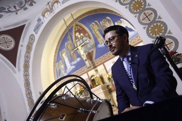 Manolo Guzmán da un pregón de Semana Santa