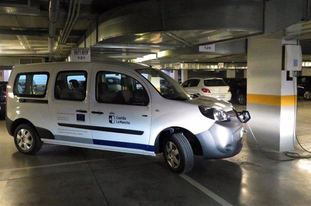 Primer vehículo 100 por cien eléctrico del parque móvil de la Junta.