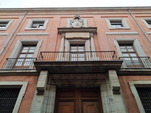Fachada del Convento de las Reparadoras en Madrid, antigua sede de la Inquisición
