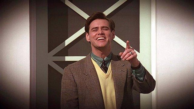 Jim Carrey en El show de Truman
