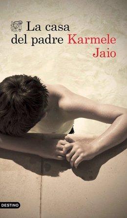 Karmele Jaio presenta La casa del padre en el club de lectura Charla con el Autor