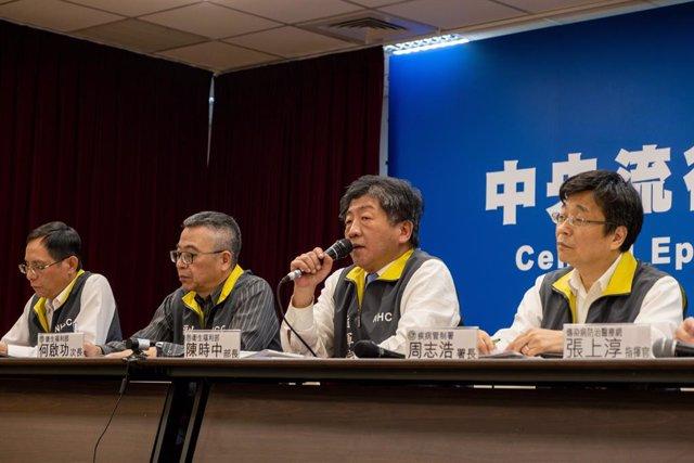 El ministre de Sanitat de Taiwan, Chen Shih Chung