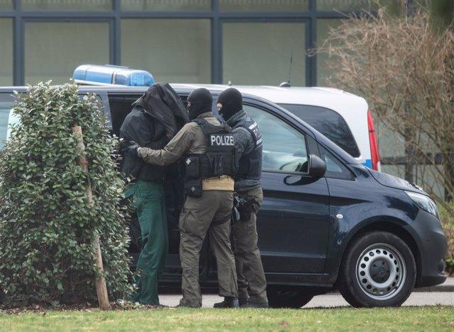 Terrorista neonazi detingut per la Policia alemanya