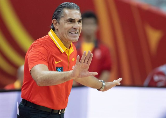 Sergio Scariolo, entrenador de la selección española de baloncesto.