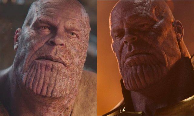 Thanos, el villano principal de Infinity War y Endgame