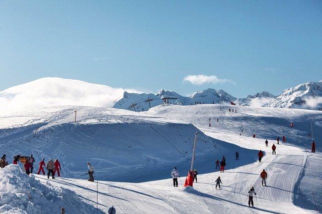 Pista de Esquí de Luchon-Superbagnères