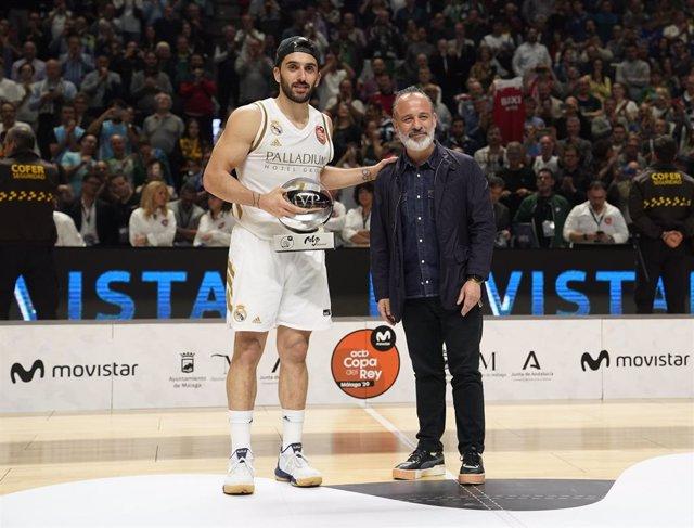 Baloncesto/Copa.- Facundo Campazzo gana su primer MVP en la Copa tras reinar en