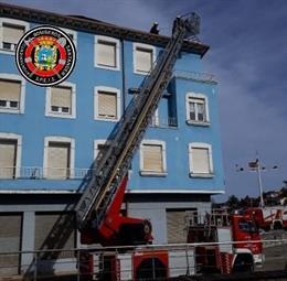 Bomberos de Santander intervienen por el viento