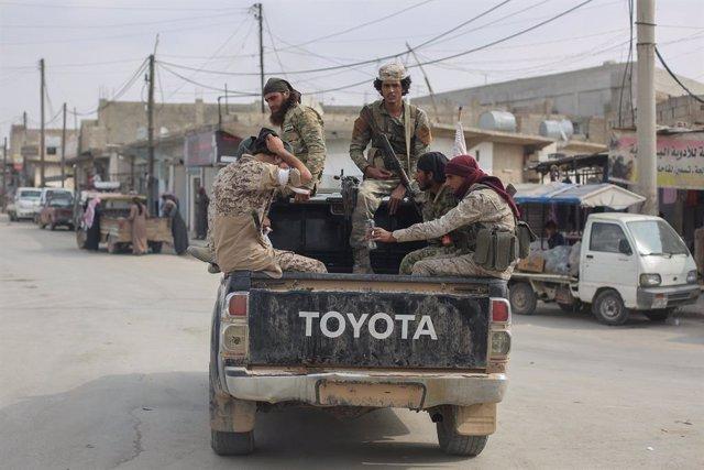 Siria.- Seis muertos en un atentado con coche bomba en el norte de Siria