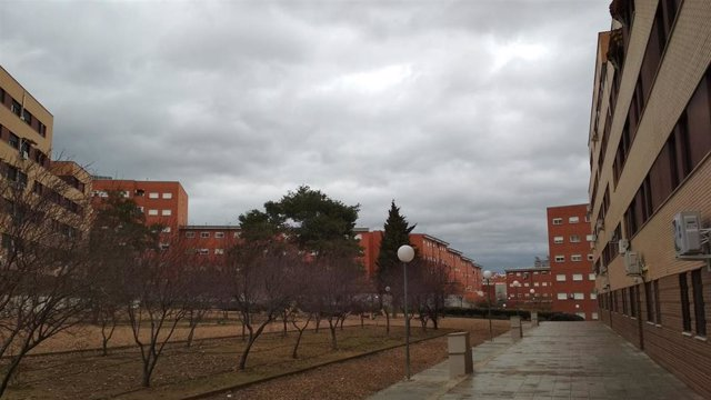Cielos cubiertos y llubia en Mérida