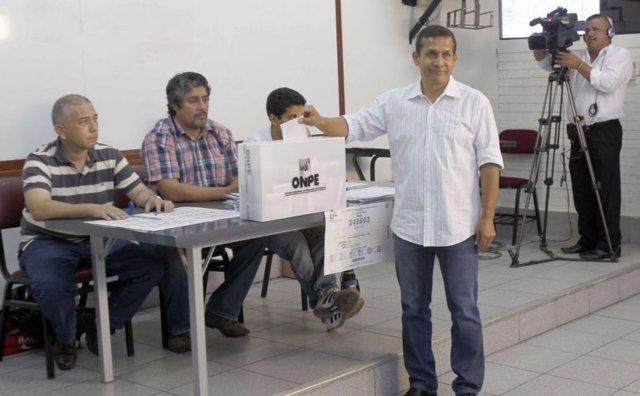 El expresidente de Perú Ollanta Humala.