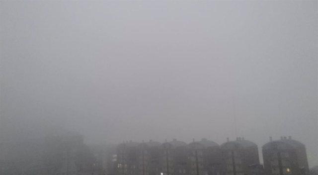 La Comunitta Valenciana amanece con una densa niebla