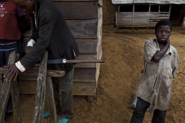 Niño de Camerún