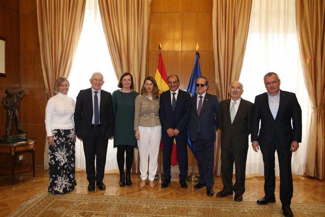 Reunión entre el Ministero y CEPES