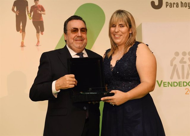 Mejor vendedora de la ONCE en Canarias, Jessica Rodríguez
