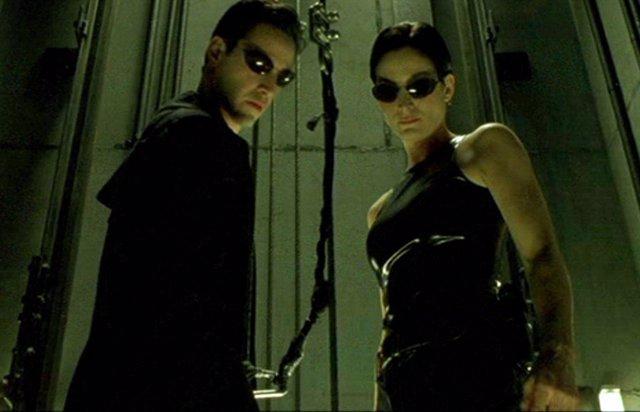 Neo y Trinity en Matrix