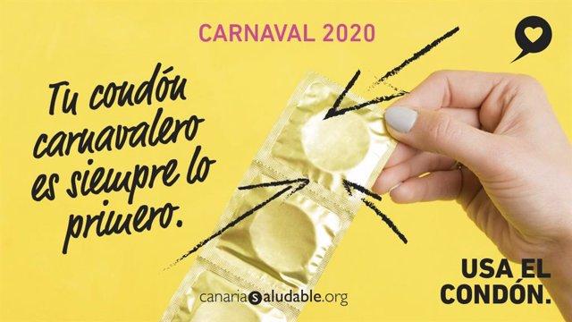 Resultado de imagen de Sanidad inicia la campaña de prevención de infecciones sexuales del Carnaval