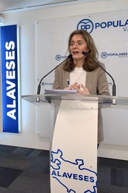 PP de Álava propone aumentar la prestación para contratar a cuidadores de dependientes con el fin de equipararla al SMI.