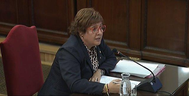 L'exconsellera de Treball, Afers Socials i Família de la Generalitat Dolors Bassa declara al Tribunal Suprem