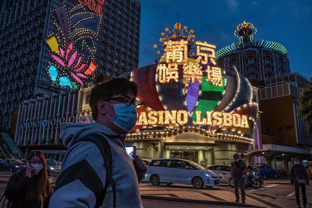 Uno de los casinos de la ciudad de Macao