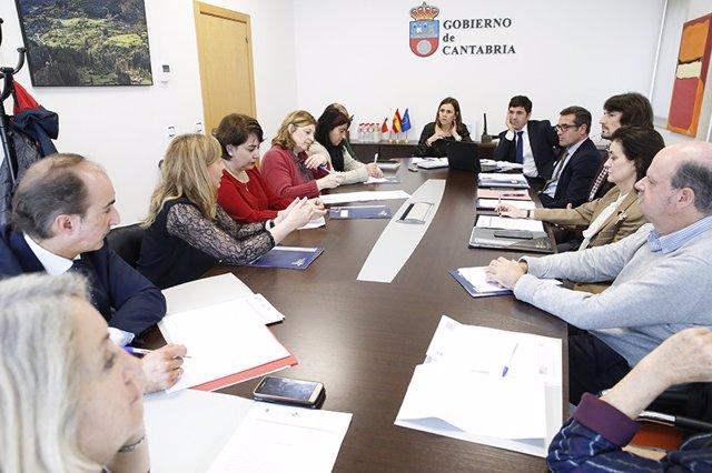 Reunión letrados administración autonómica