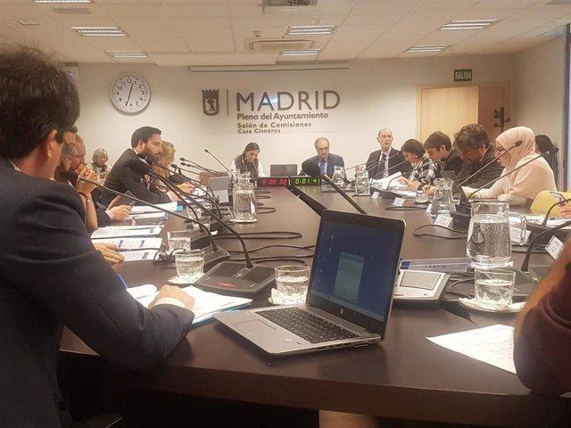 Comisión de Economía y Hacienda del Ayuntamiento de Madrid