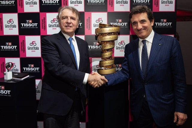 Tissot será también cronometrador del Giro de Italia junto al Tour y La Vuelta a España